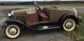 1930, Ford Model A Roadster w/ Rumble Seat