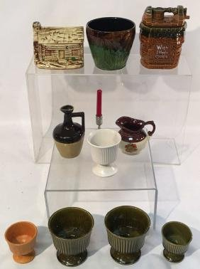 Collection of 10 Misc. Pottery