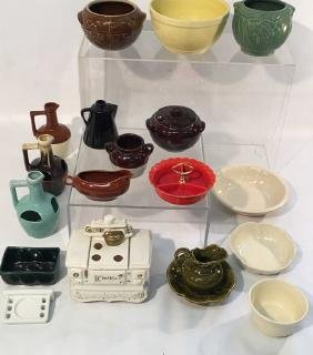 Large Collection of Misc. Pottery from the 1930's-