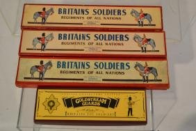 Collection of Britains Soldiers