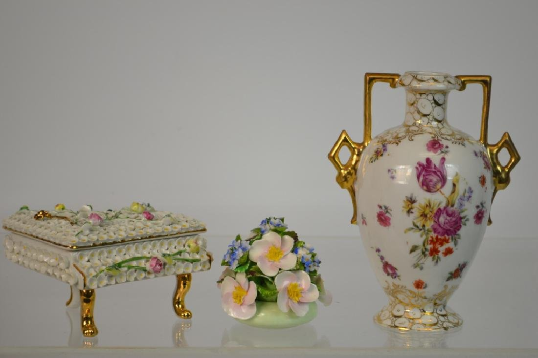 Austrian, English, and German Porcelain