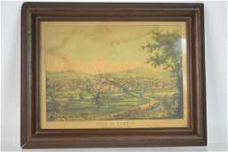 19th Century York Pa Print by JT Williams