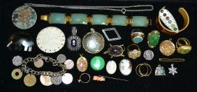Costume & Victorian Jewelry Grouping