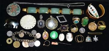 Costume  Victorian Jewelry Grouping