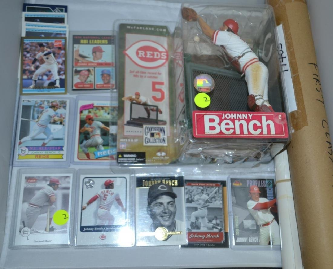Johnny Bench Baseball Grouping and Others