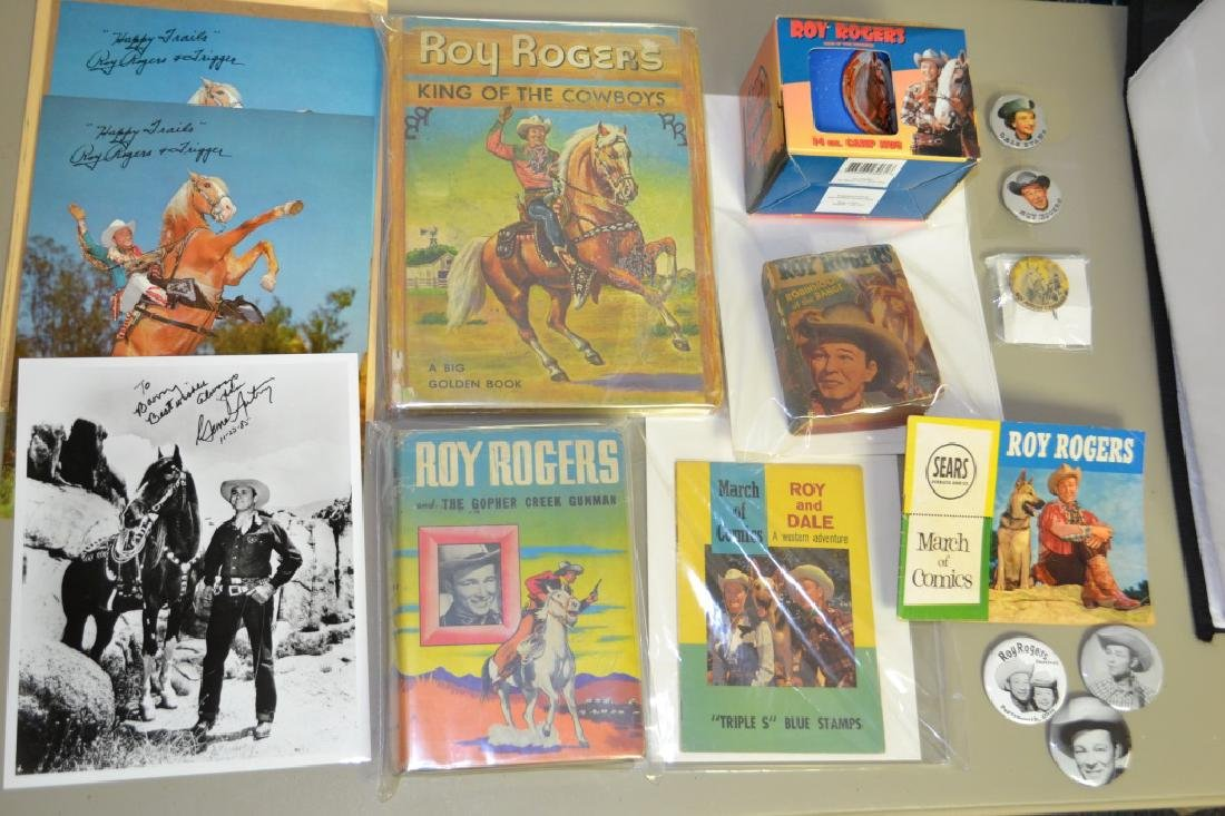 Grouping of Roy Rogers Memorabilia