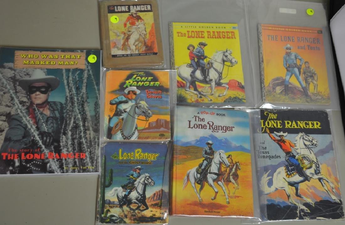 Grouping of Seven, Lone Ranger Books