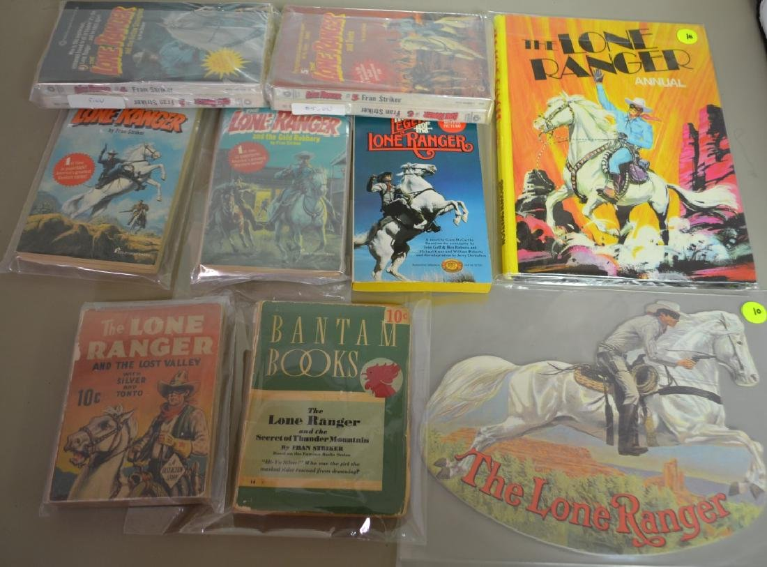 Grouping of 11 Assorted Lone Ranger Books