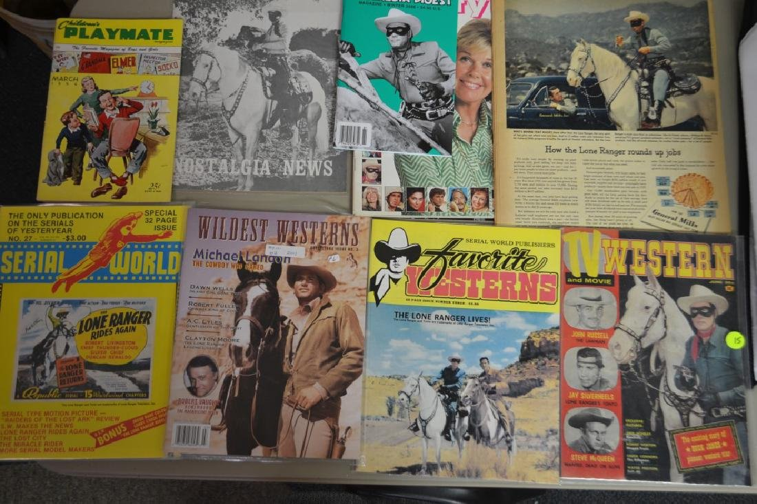 9 Magazines Featuring The Lone Ranger