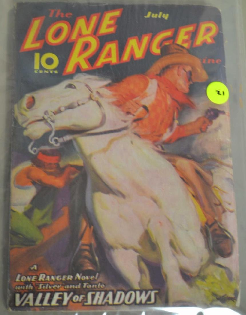 1937 Lone Ranger, Valley Of Shadows Book