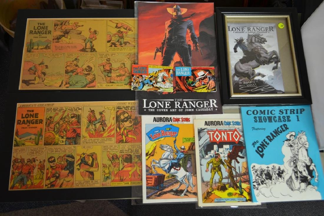 Lone Ranger Comic Lot