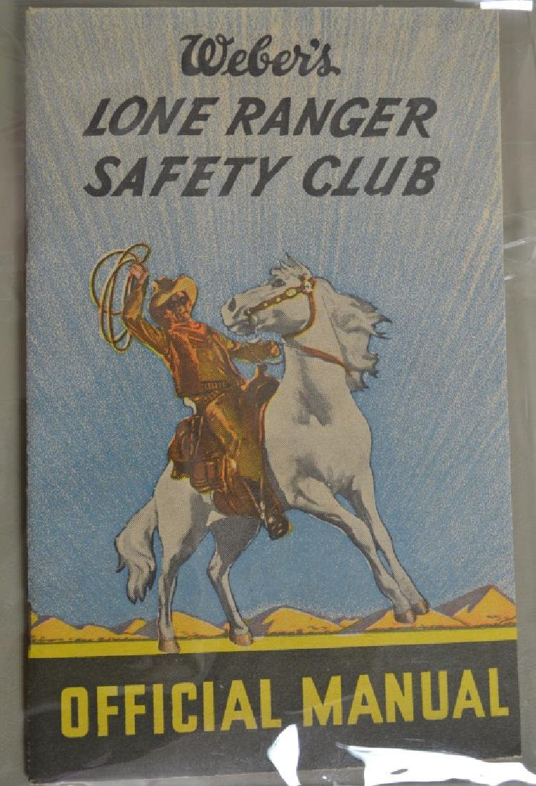 Weber's Lone Ranger Safety Manual & Other