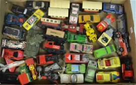 Approx. 40 Vintage Mixed Die Cast Cars