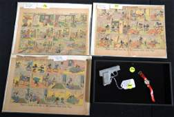 Mickey Mouse Elmer  Dick Tracy Collectable Lot