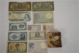 Grouping of Foreign Currency Bills