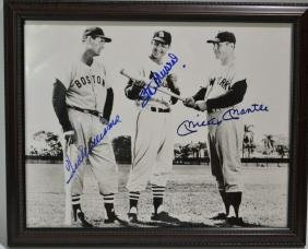 Ted Williams, Mickey Mantle, Stan Musial