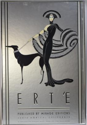 Erte Graphic (roman De Tirtoff), Titled: Symphony