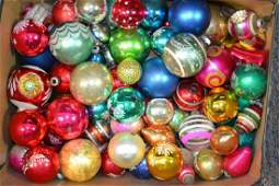 Large Grouping of Shiny Brite Ornaments