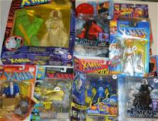 Large Collection of X Men and Other Action Figures