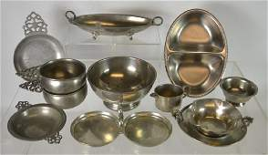 Large Collection of Nice Pewter