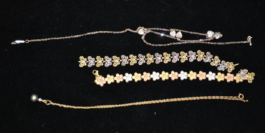 10k & 14k Yellow and White Gold Grouping