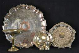 Grouping of Sterling Silver and Silver Plate