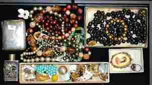 Collection of Vintage Jewelry and Sterling Silver