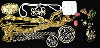 Assorted Costume Jewelry Grouping