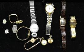 Grouping of Wrist and Pendant Watches