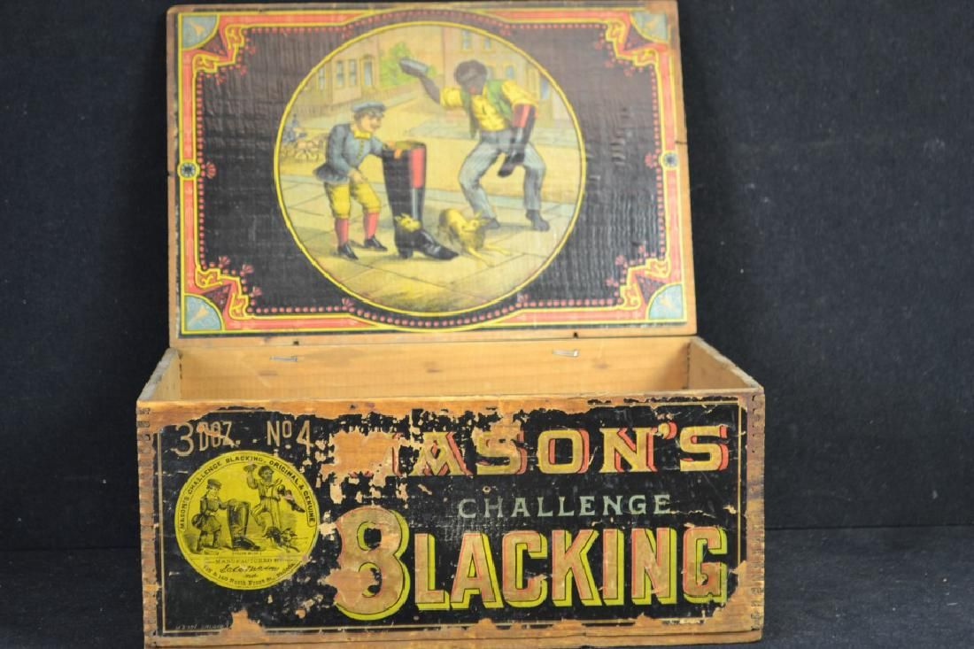 Mason's Challenge Blacking Store Display
