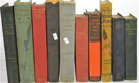 Grouping of 10 Military Books