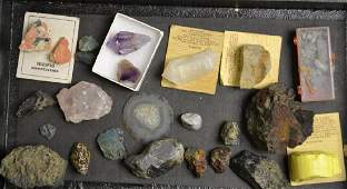 Mineral Grouping including Quaurtz and more