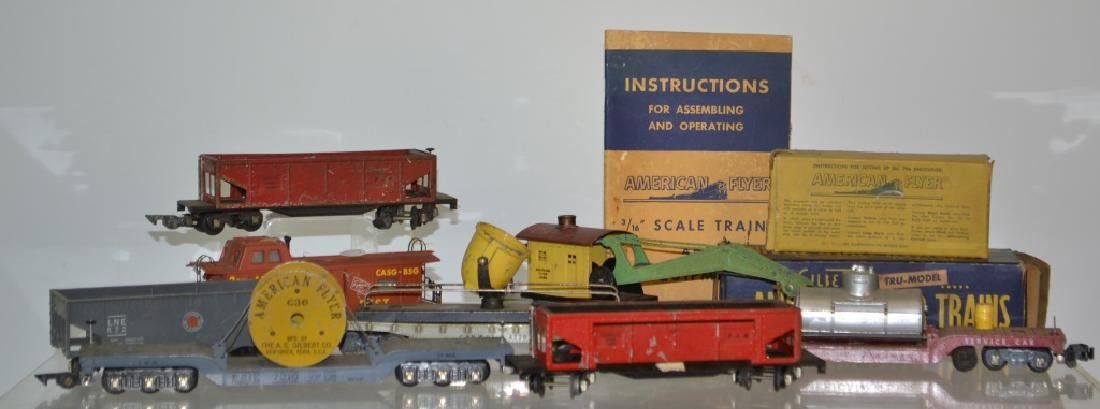 Vintage American Flyer Train Collection
