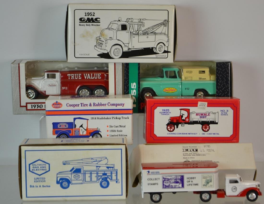 Cast Ertl Truck Banks and more