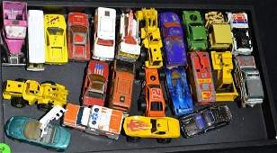 Grouping of Hot Wheels and Matchbox Cars Approx 24