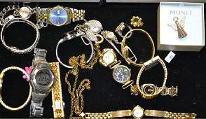 Grouping of Ladies and Mens Watches Ladies watches