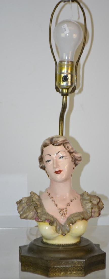 Pair of 1940's Figural Lamps - 2