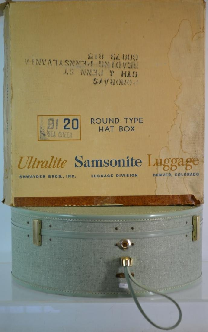Samsonite Hat Box Suitcase