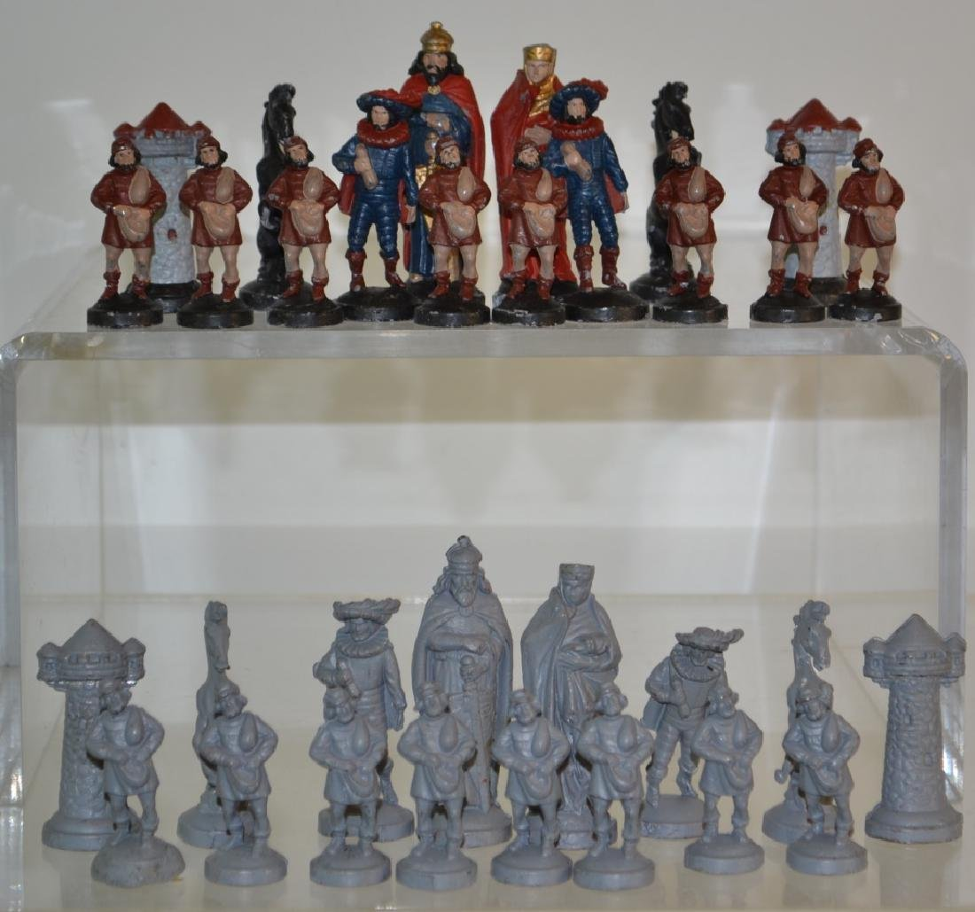 Cast Iron Chess Pieces