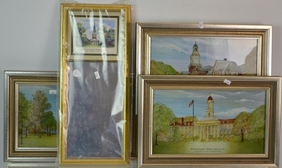 University Reverse Painting Grouping