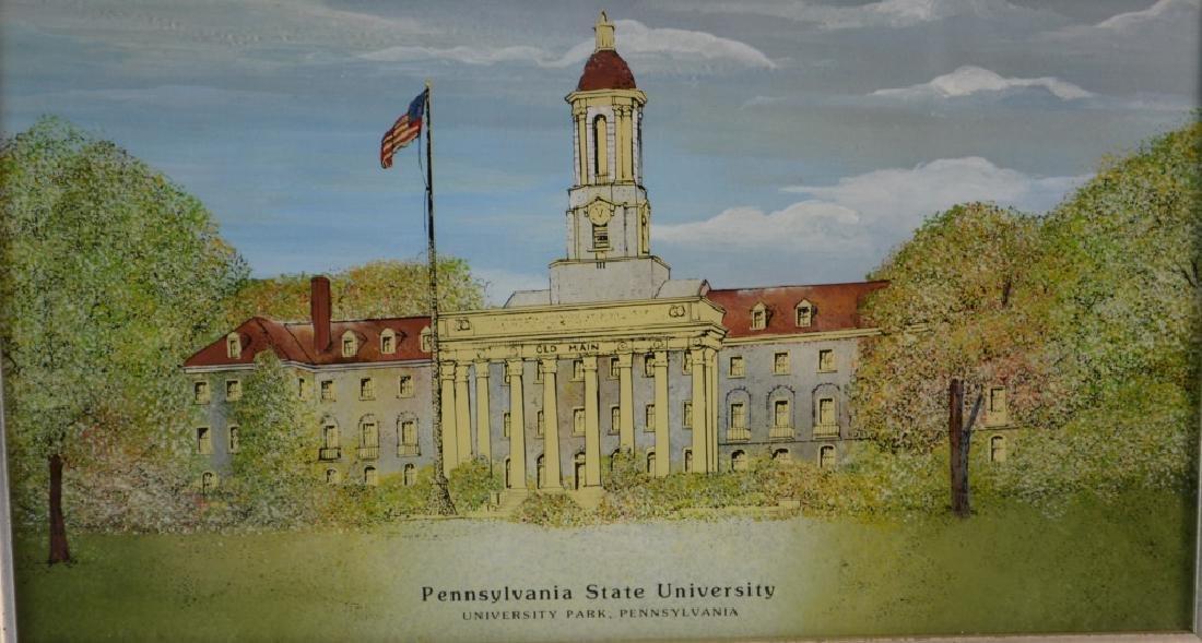 University Reverse Painting Grouping - 2