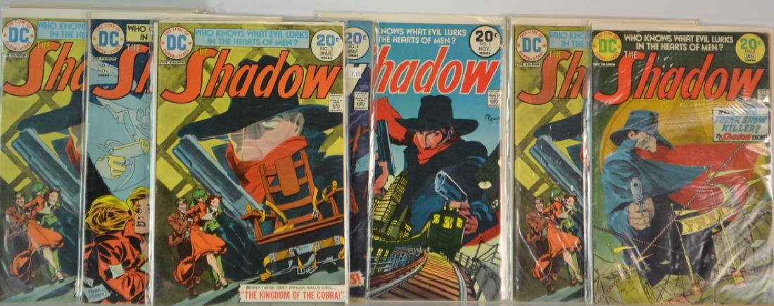 Twelve 20 Cent Various Shadow Comics