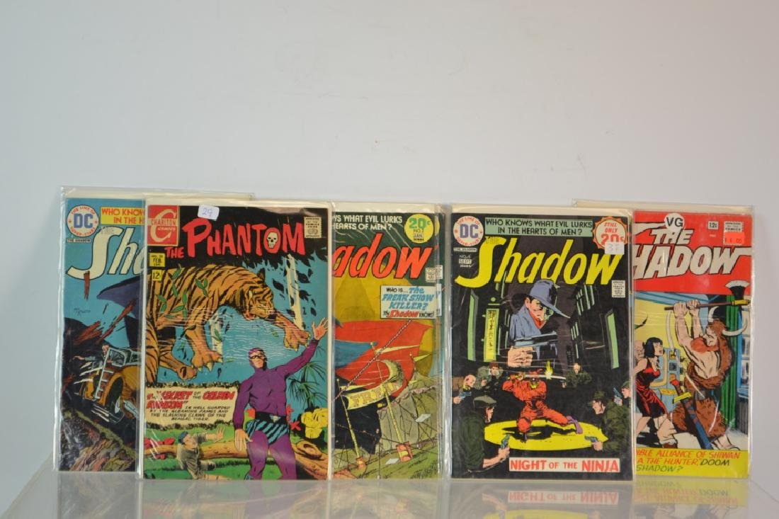 Eleven Various Shadow and Phantom Comics