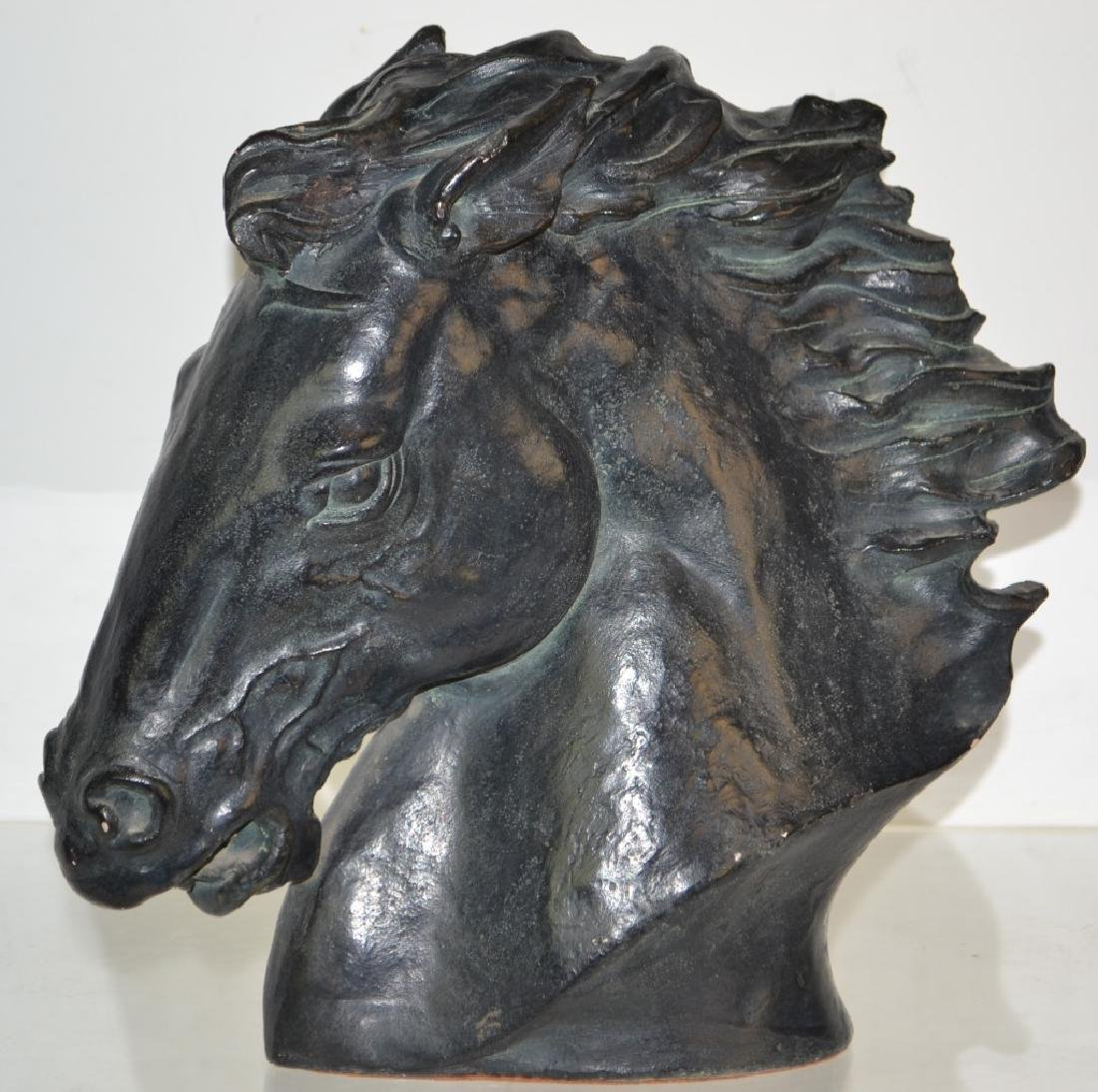An Austin Horse Statue