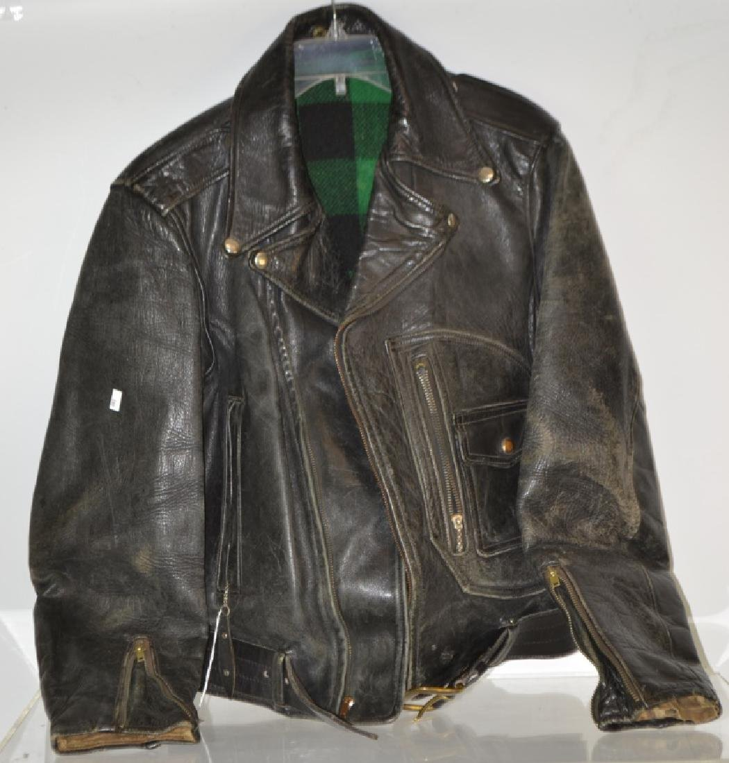 Mid Century Leather Jacket