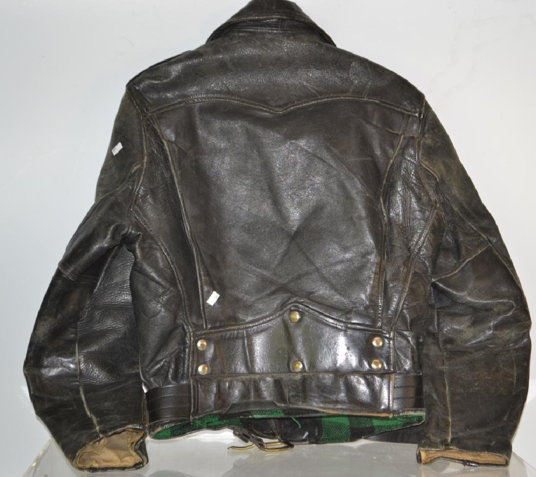 Mid Century Leather Jacket - 2