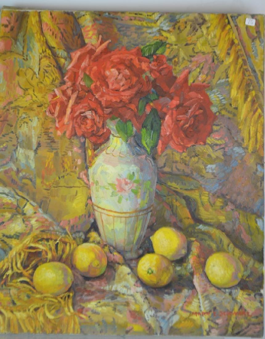 Still Life by Mary Emma Schwarz (American, 20th C)