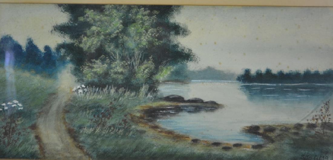 Watercolor Signed Sutherland