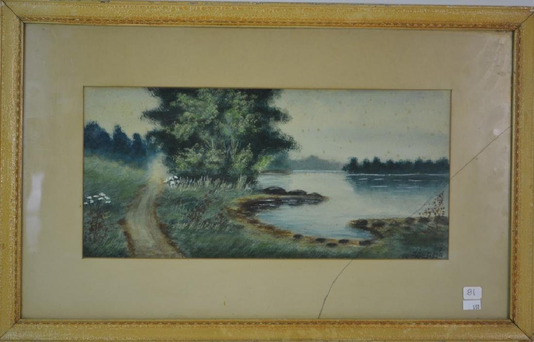 Watercolor Signed Sutherland - 2