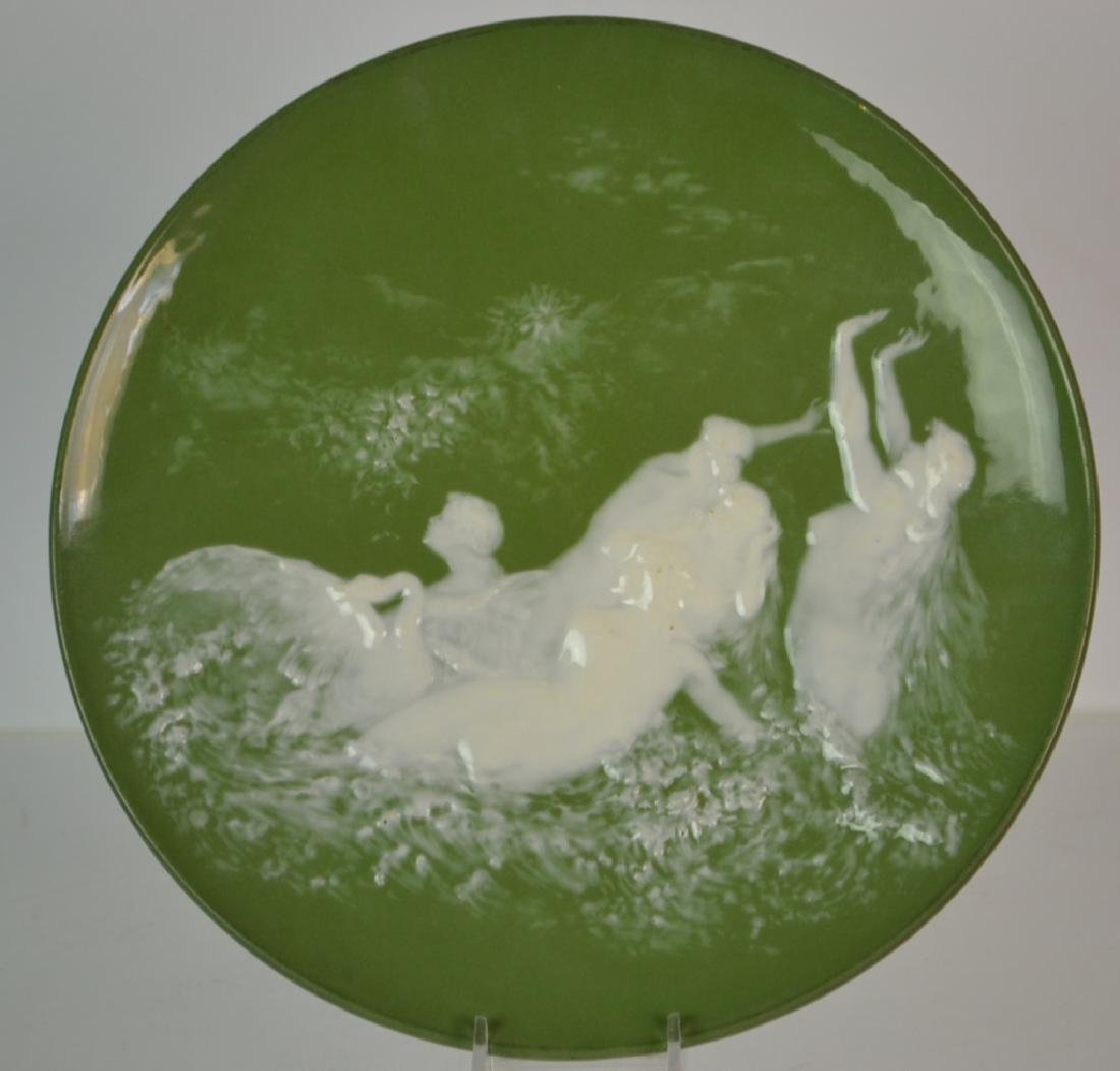 Austrian Hanging Plate with Fairies - 2